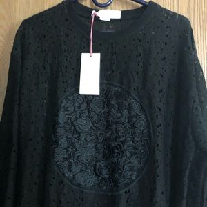 Stella/McCartney Beautiful Black Lace Top